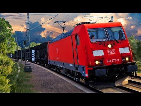 Train Sim World Ruhr-Sieg Nord | Hagen - Finnentrop | TSW Ruhr Sieg - BR 185.2 Deutsche Bahn AG |