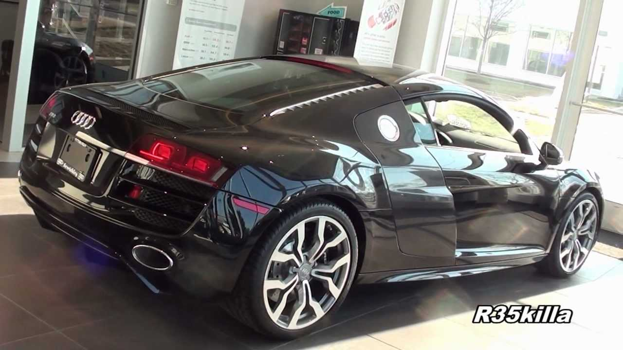Black Audi R8 V10 Coupe Walkaround