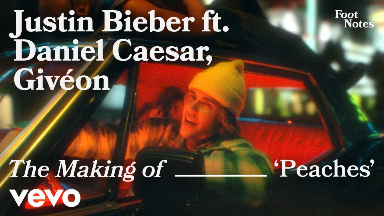 Justin Bieber - The Making of 'Peaches' | Vevo Footnotes ft. Daniel Caesar, Givéon