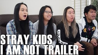 Stray Kids - I am NOT Trailer (Reaction Video)