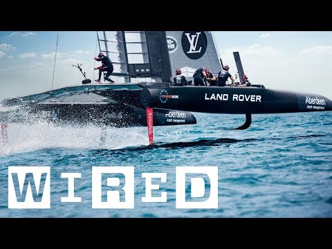 Formula 1 on Water: Ben Ainslie Explains the America's Cup | WIRED Originals