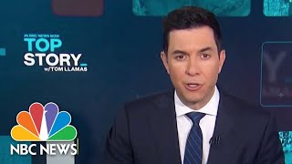 Top Story with Tom Llamas - October 25 | NBC News NOW