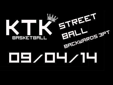 Keynsham Kings - Street Ball - Backwards 3 pointer attempts 09/04/14