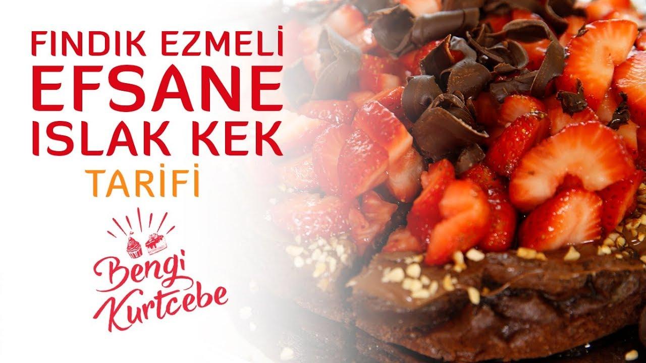 Kakaolu Fındık Ezmeli Kek