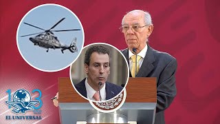 Helicóptero de Alonso y Moreno Valle hizo escala en casa de José Chedraui