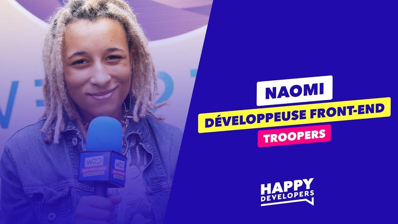 Happy Developers - Web2Day Nantes - Naomi de Troopers