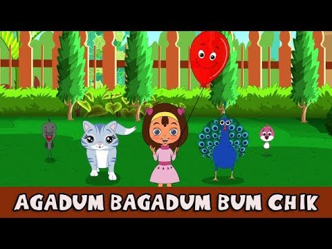 Marathi Rhymes for Children - Agadum Bagadum - Marathi balgeet song मराठी गाणी