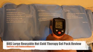 BKG Large Reusable Hot Cold Therapy Gel Pack Review