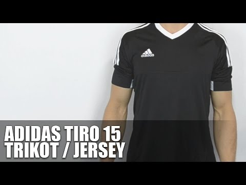 adidas tiro 15 trikot fussball jersey review youtube. Black Bedroom Furniture Sets. Home Design Ideas