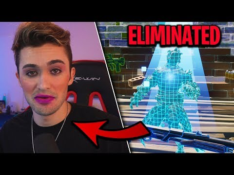 I put MAKEUP on My Face after every time I died on fortnite... (embarrassing) thumbnail