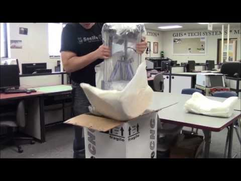 Unboxing & Setup of the Orion Delta 3D Printer