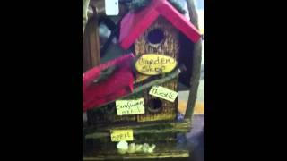 Rustic Bird Houses Nashville Tennessee