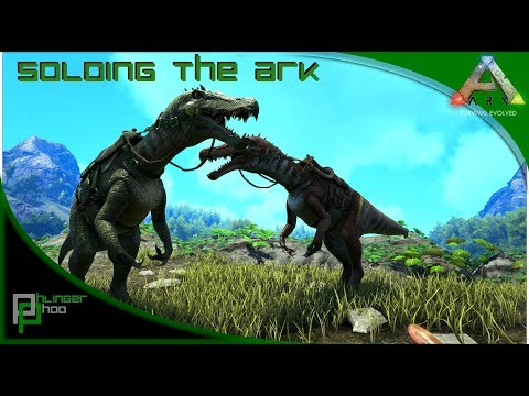 Soloing the Ark S4E39 - Baryonyx Taming!
