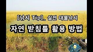 [낚시 Tip]_ 실전 대물낚시 / 자연형 받침틀 / …