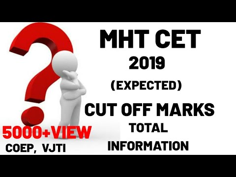 MHT CET 2019 CUT OFF MARKS 😱😱🔥🔥🔥