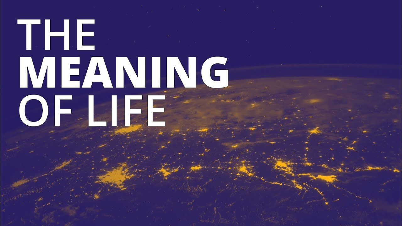 WHAT IS THE MEANING OF LIFE? Man's Search For Meaning