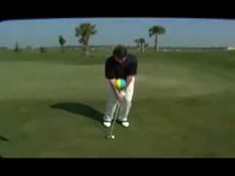 Impact ball   Golf training aid