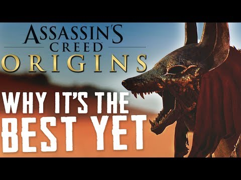 Assassin's Creed: Origins | 3 Reasons It's the Best Assassin's Creed Since Black Flag | XBOX ONE X,