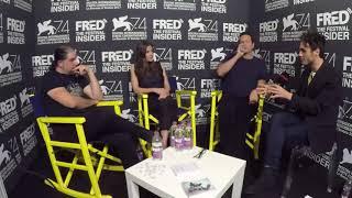 Craig Zahler, Vince Vaughn and Jennifer Carpenter - BRAWL IN CELL BLOCK 99 - 74 Venice Film Festival streaming