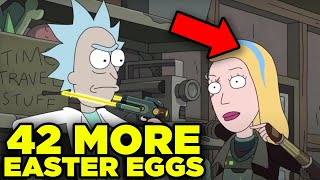 Rick and Morty 42 MORE EASTER EGGS Missed in Season 4 | Ricksplained
