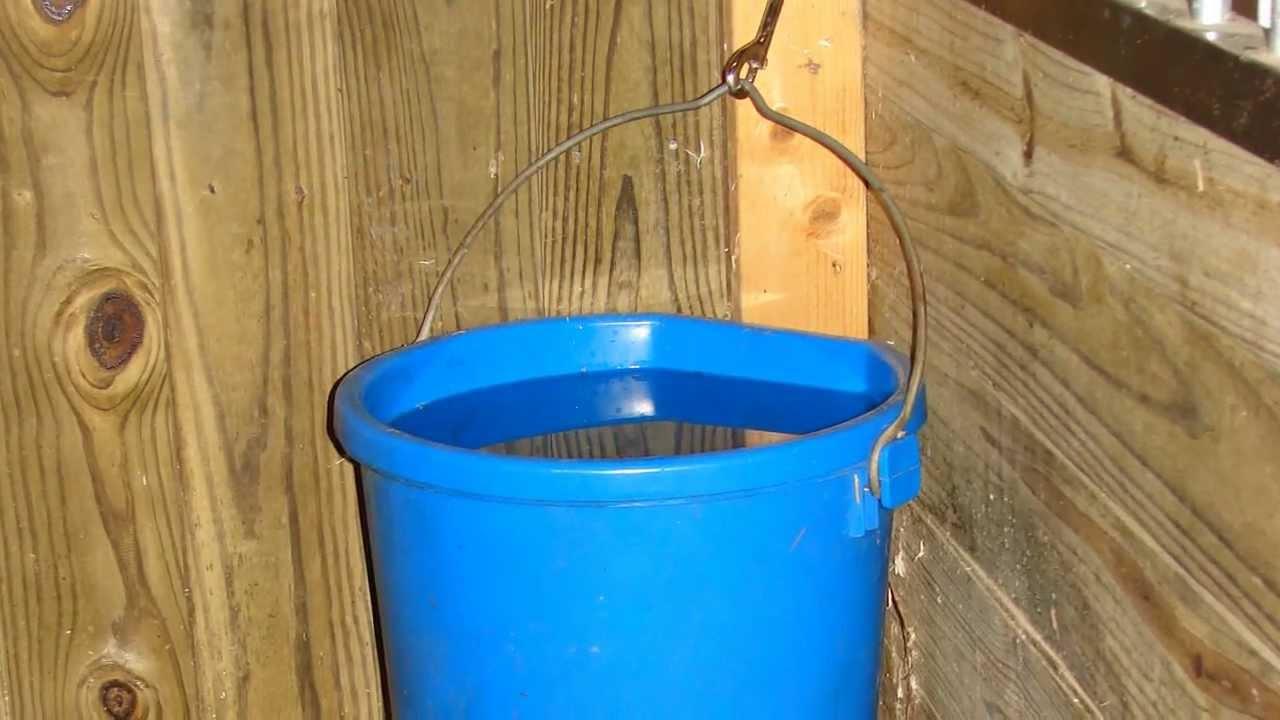 5 Gallon Flatback Heated Water Bucket From Schneiders