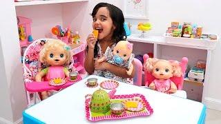 BABYALIVE - Reencontro das Babys com BIA LOBO