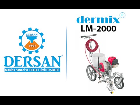 Dermix-LM 2000 Yol Çizgi Makinası