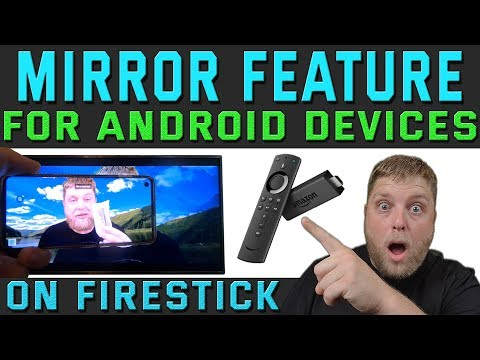 How To Mirror Your Phone Or Tablet To Amazon Firestick  |  No Apps Needed To Do This