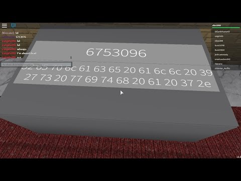 Roblox Identity Fraud Radio Morse And Hex Check Desc Youtube