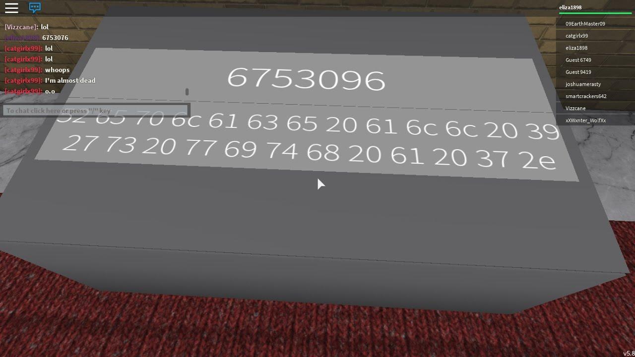 roblox morse code identity fraud