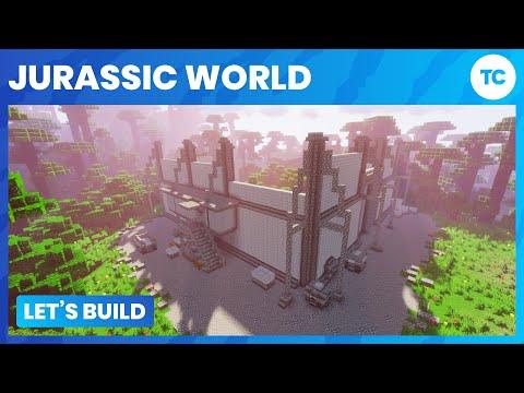 Let's Build Jurassic World! Part 1 - Indominus Rex paddock 1/3!