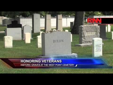Honoring Veterans: Historic Graves At West Point Cemetery