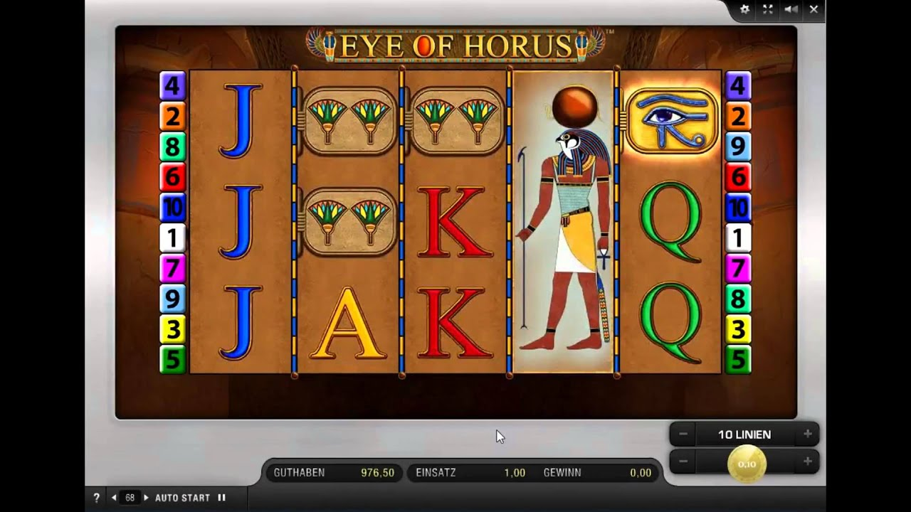 Novoline Eye Of Horus Spielen