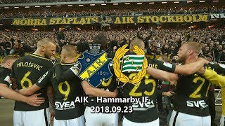 AIK - Hammarby IF 1-0 (2018.09.23) Derby