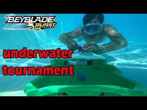 UNDERWATER TOURNAMENT Beyblade on the Red Sea Video for children