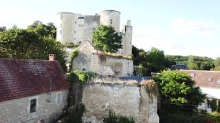 France from the sky- Indre et Loire- Cruisader castle