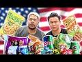 ZackTTG Guess & Rates American Snacks!