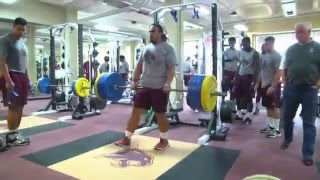"""Herbert """"CHEETO"""" Gonzales III - Nose Tackle - Texas State - 2015 SENIOR Highlights"""