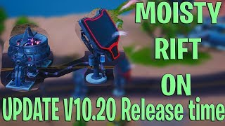 MOISTY MIRE RIFT BEACON Turning ON - NEW Fortnite Update 10.20 Release Time LEAKED