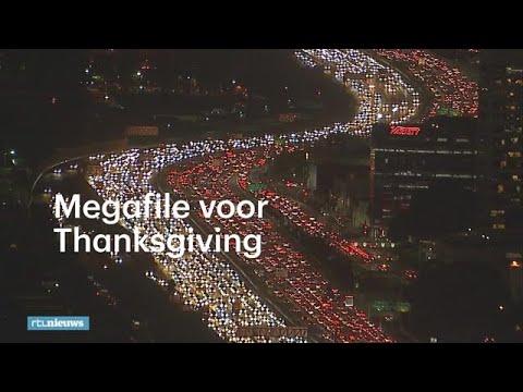 Heel Amerika wil naar huis: megafiles voor Thanksgiving - RTL NIEUWS