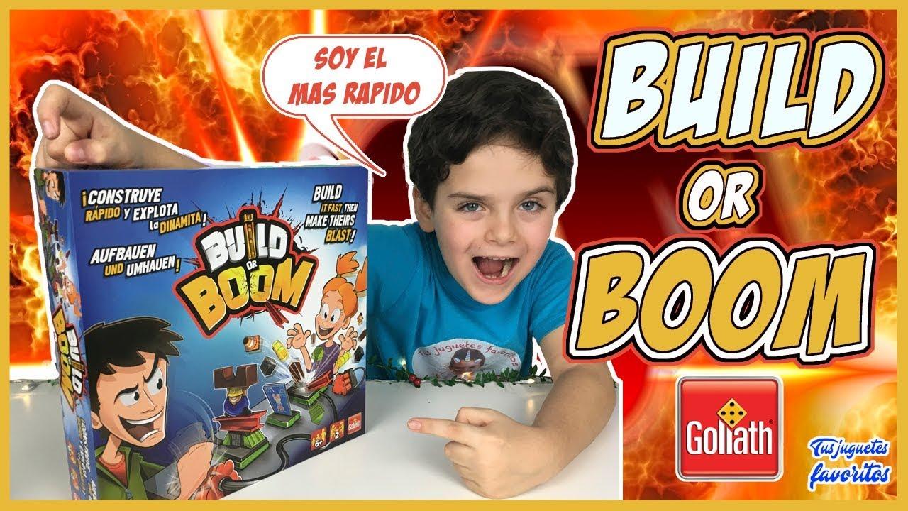 Build Or Boom Juego De Mesa Goliath Contruye Rapido Y Explota La