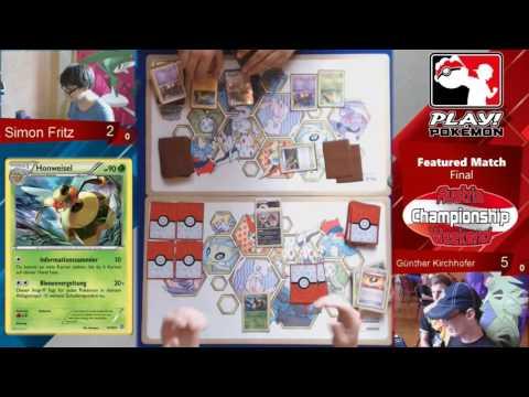 Austria Championship Weekend 2016 - Pokémon Feature Match Finale