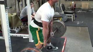 Sumo Deadlift - 500 Lbs For 14 Reps (lost Grip On The 15th)