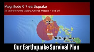 Woke Up to a 6.7 #Earthquake During #Typhoon Fabian in the #Philippines #DoomsDayPreppers