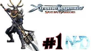 Let's Play Samurai Warriors: Xtreme Legends: Tadakatsu Honda (pt1) The Battle of Okehazama