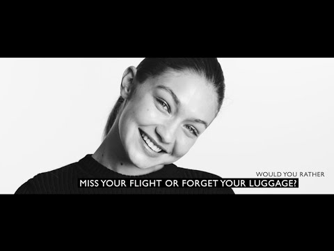 "Gigi Hadid Plays ""Would You Rather:"" Stuart Weitzman Fall 2016"