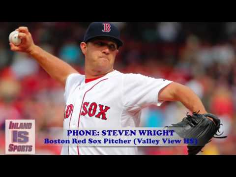 MLB: Boston Red Sox Pitcher Steven Wright Interview