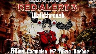 Command & Conquer Red Alert 3 - Allies Mission 7 - Tokyo Harbor - Walkthrough