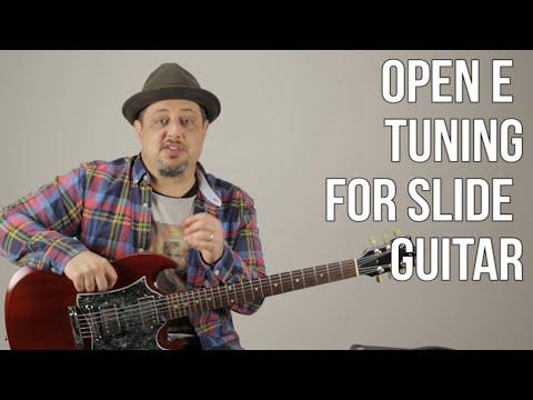 Open E Tuning For Slide Guitar - Basic Slide Guitar Techniques