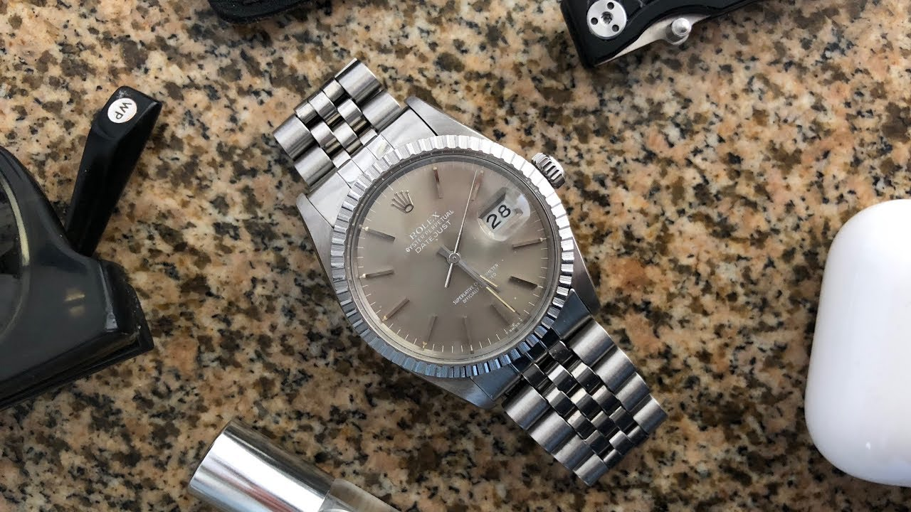 e625122f5140 Why I Bought a Vintage Rolex Datejust (Ref 16030) - YouTube